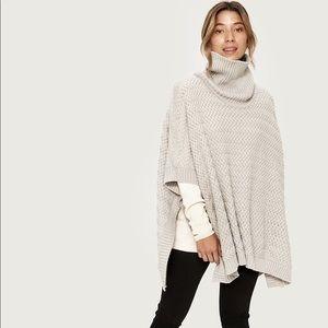 Lolë Knitwear Poncho - Grey size o/s